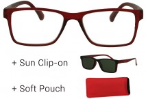 Rome Sun Edition with Clip Brown